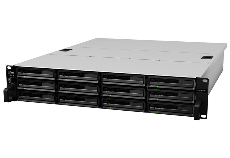 Synology RackStation 拡張性と信頼性に優れた2Uラックマウント型NASストレージ (RS2414+)