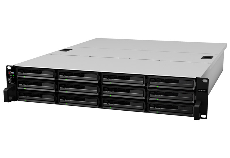 Synology RackStation 拡張性と信頼性に優れた2Uラックマウント型NASストレージ 冗長電源 (RS2414RP+)