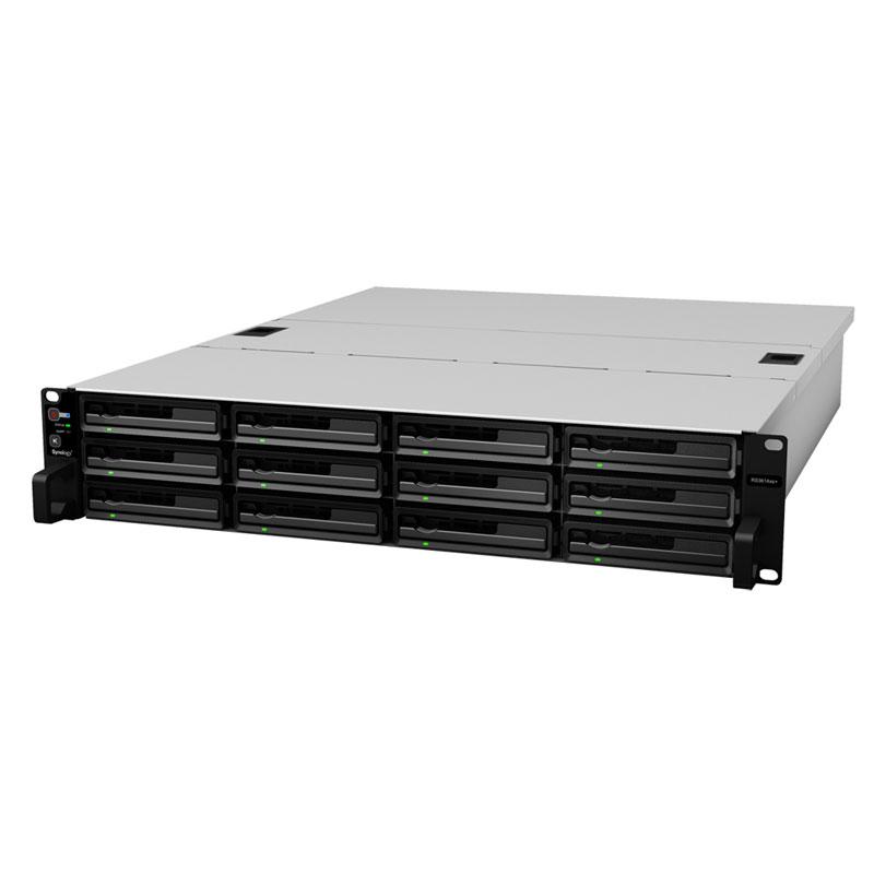 Synology RackStation 性能にふさわしい多様なストレージ ソリューション (RS3614xs+)