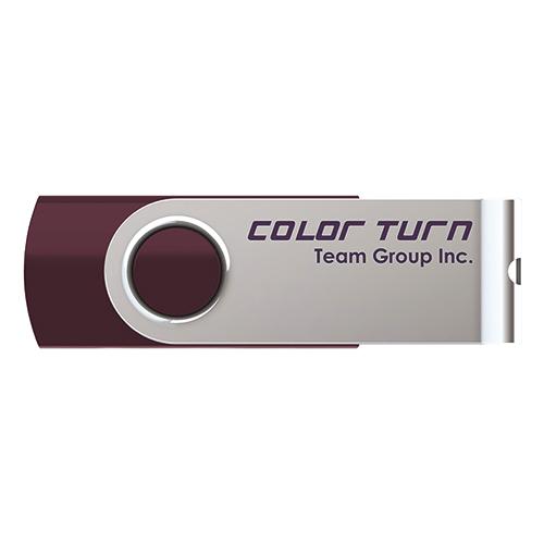 Team Color Turn(E902) キャップレス回転式ボディ採用 USB2.0メモリー 4GB (TG004GE902VX)