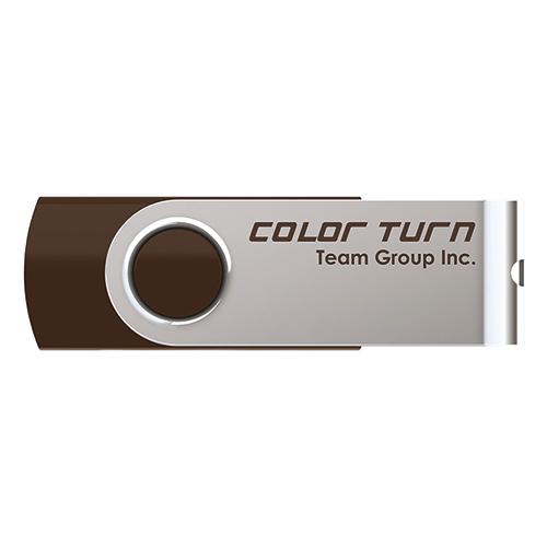 Team Color Turn(E902) キャップレス回転式ボディ採用 USB2.0メモリー 8GB (TG008GE902CX)
