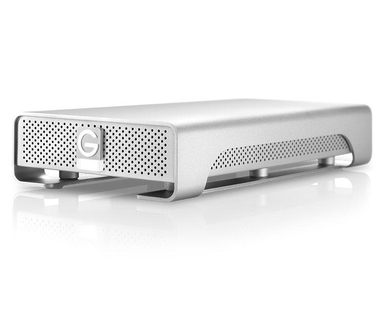 G-Technology G-DRIVE (Gen 6) 2TB  USB3.0、eSATA、FireWire800 プロ向けデスクトップストレージ (0G02922)