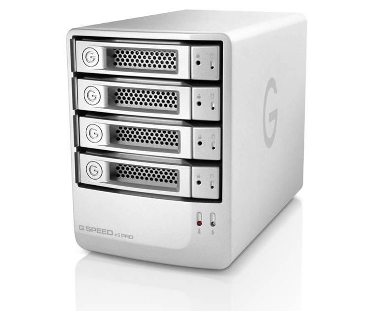 G-Technology G-SPEED eS Pro 8TB NA Enterprise 12Gbit mini-SASポート プロ仕様のRAIDソリューション (0G01873)