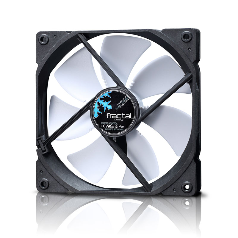 Fractal Design Dynamic GP-14 ホワイト 低騒音で大風量を実現 140mm径ファン (FD-FAN-DYN-GP14-WT)