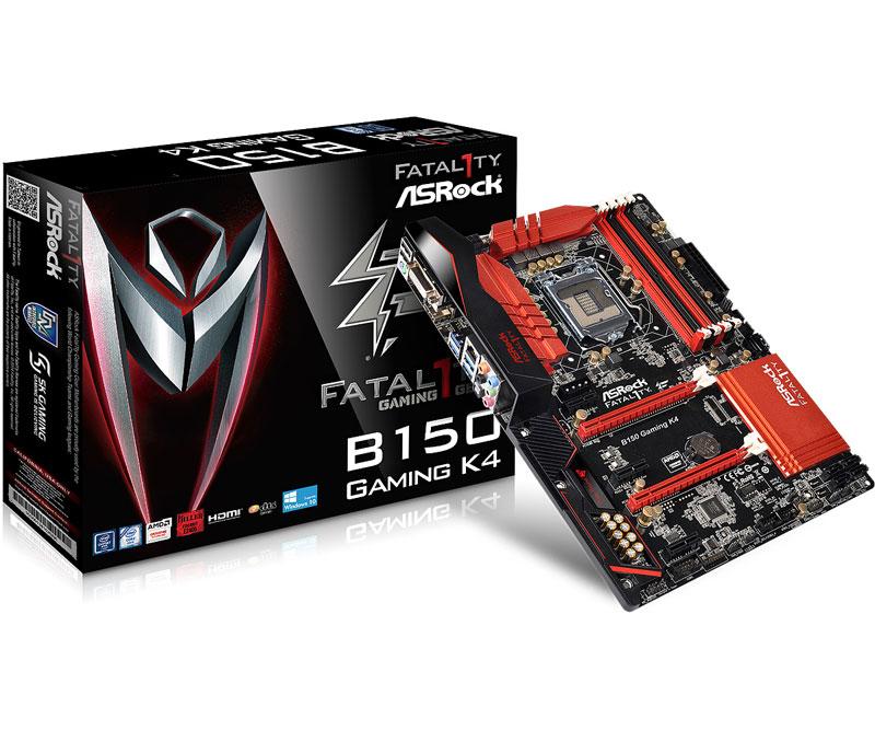 ASRock インテルB150チップセット搭載ゲーミングATXマザーボード (B150 Gaming K4)