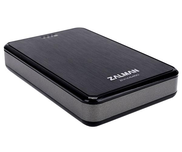 ZALMAN Mobile wireless HDD & PowerBank モバイルバッテリー搭載Wi-Fi/USB3.0 HDDケース|ZM-WE450