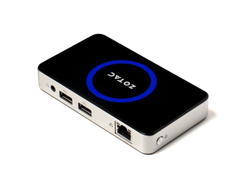 ZOTAC インテルAtom Z3735搭載ポケットPC ZBOX PI320 pico with Windows 10 Home (ZBOX-PI320-W2B)