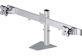 Belltech 卓上ディスプレイスタンド水平垂直可動式3台 (EGFS-4530)