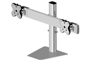 Belltech 卓上ディスプレイスタンド水平垂直可動式2台 (EGFS-4520)