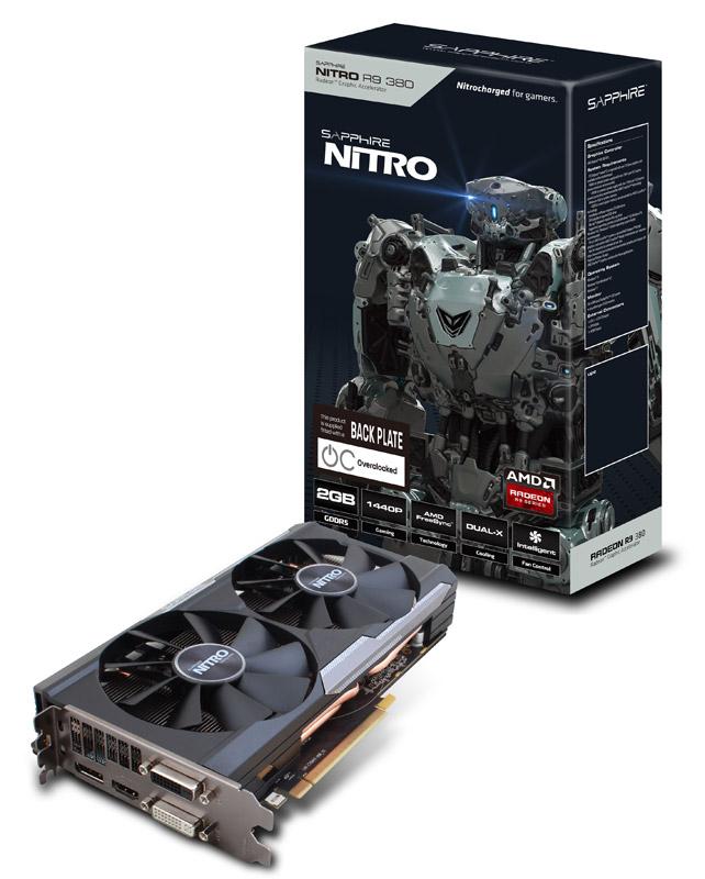 Sapphire NITRO R9 380 2G GDDR5 PCI-E DVI2/HDMI/DP DUAL-X OC (SA-R9380-2GD5NIT01/11242-12-20G)