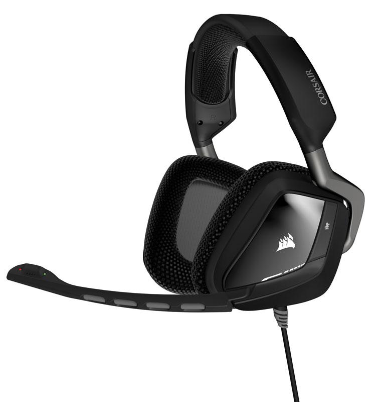 Corsair Gaming VOID USB GamingHeadset ゲーミングヘッドセット ブラック(CA-9011130-AP)