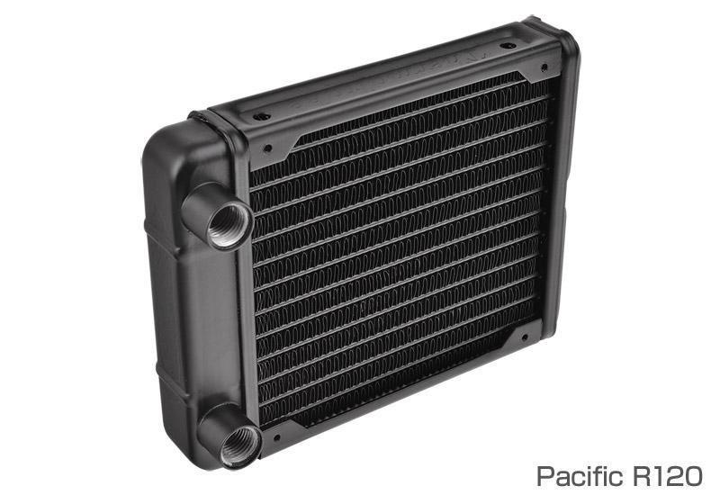 Thermaltake Pacific R120/DIY LCS/Radiator 120x120x28mm 薄型ラジエーター (CL-W008-AL00BL-A)