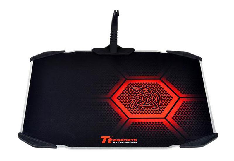 Thermaltake TteSPORTS DRACONEM Mousepad 2016 アルミ製ゲーミングマウスパッド (MP-DCM-BLKHMS-01)