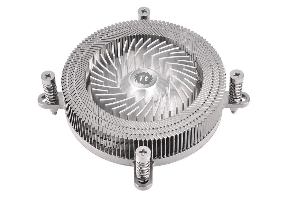 Thermaltake Engine 27 全高わずか27mmに抑えたロープロファイルCPUクーラー|CL-P032-CA06SL-A