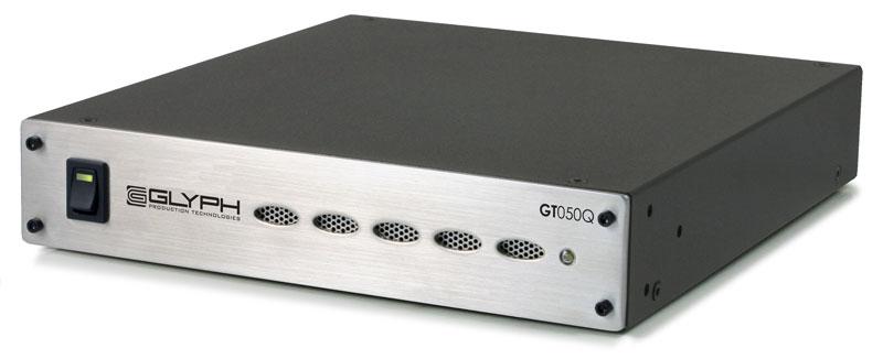 【処分特価品セット2】 Glyph GT 050Q 1TB FireWire400/800、eSATA、USB2.0 外付けHDD|GT050Q1F-1000