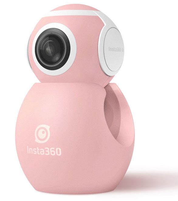 Arashi Vision Insta360 Air Micro USB  360度ビデオカメラ|CINMAIR/A/PINK