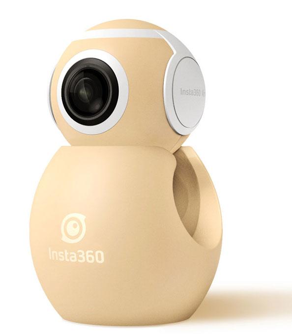 Arashi Vision Insta360 Air Micro USB ゴールド 360度ビデオカメラ|CINMAIR/B/GOLD