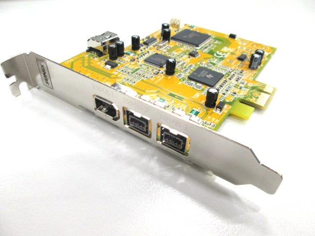 G-Technology SUNIX 4ポート FireWire800/400 PCI Expressカード (907102-01)