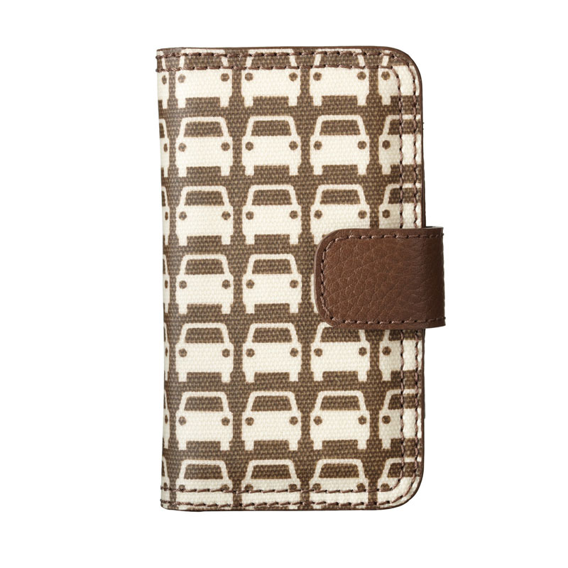 Orla Kiely Car Park Folio Case iPhone4/4s レトロでカラフルなFolioケース(M.1C17206)