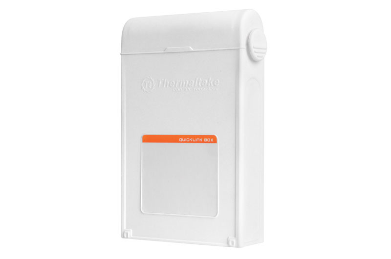 Thermaltake QuickLink BOX バックアップや予備HDDのストックなどに便利なホットスワップトレイ (ST0040Z)