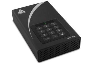 Apricorn Aegis Padlock DT 暗証番号データセキュリティ 1TB ADT-3PL256-1000 (KW8518)