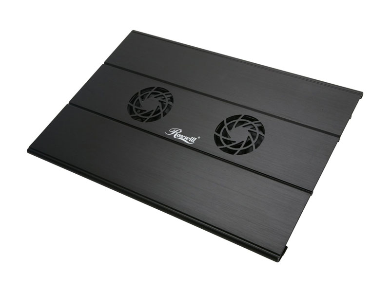 Rosewill アルミニウム ノートパソコン クーラー 冷却台15〜17インチ lNotebook Cooling Pad (RNA-7600W)