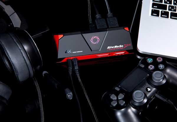 AVerMedia Live Gamer Portable 2 PLUS 4Kパススルー機能・1080p/60fps高画質録画対応HDMIゲームキャプチャー|AVT-C878 PLUS