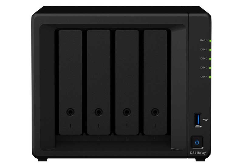Synology DiskStation DS418play(4K Ultra HDビデオコード変換対応) DS418play