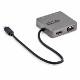 StarTech USB-C接続マルチアダプタ USB 3.1 Gen 2 Type-C対応マルチハブ 4K HDMI/ Thunderbolt 3対応|DKT31CHVL