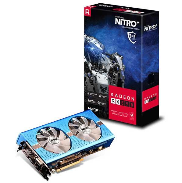 SAPPHIRE NITRO+ RADEON RX 590 8G GDDR5 SPECIAL EDITION|SA-RX590-8GD5N+/11289-01-20G