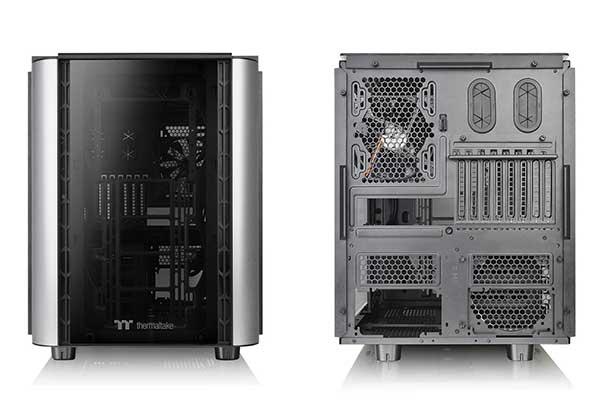 【アウトレット特価・新品】Thermaltake LEVEL 20 XT 4面強化ガラスパネル搭載 20周年記念モデル キューブ型 E-ATX  PCケース|CA-1L1-00F1WN-00