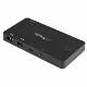 StarTech USB-Cパソコン対応2ポートKVMスイッチ 4K60Hz HDMI コンパクトUSB Type-Cパソコン切替器 USB-Cケーブル付属  SV211HDUC