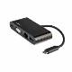 StarTech USB-C専用VGA対応マルチポートアダプタ USB PD(60W) USB3.0規格準拠 GbE対応RJ-45 USB Type-C接続MULTIPORTアダプタ|DKT30CVAGPD