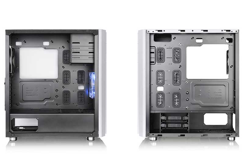 【アウトレット特価・新品】Thermaltake Versa H26 ミドルタワー型PCケース ホワイト|CA-1J5-00M6WN-01