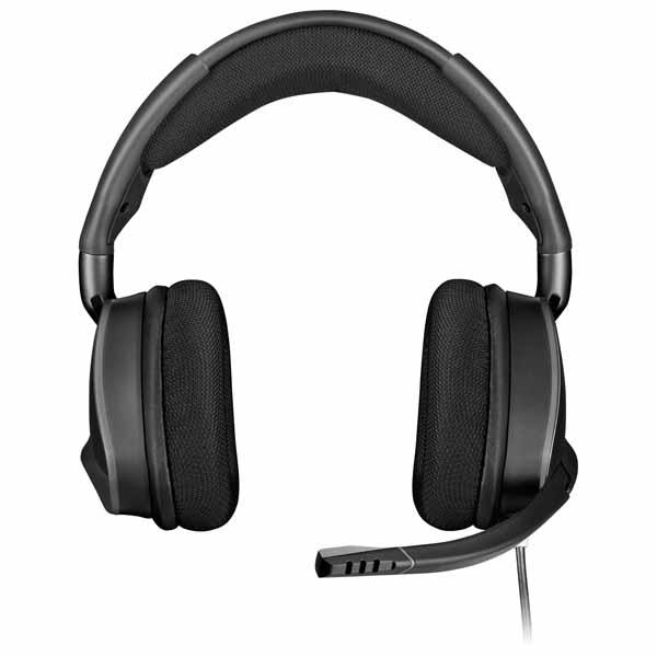 【アウトレット特価・新品】Corsair VOID RGB ELITE USB カーボン USB接続ゲーミングヘッドセット|CA-9011203-AP