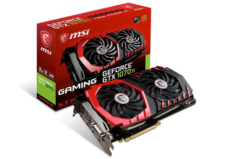 MSI GeForce GTX 1070 Ti GAMING 8G グラフィックボード