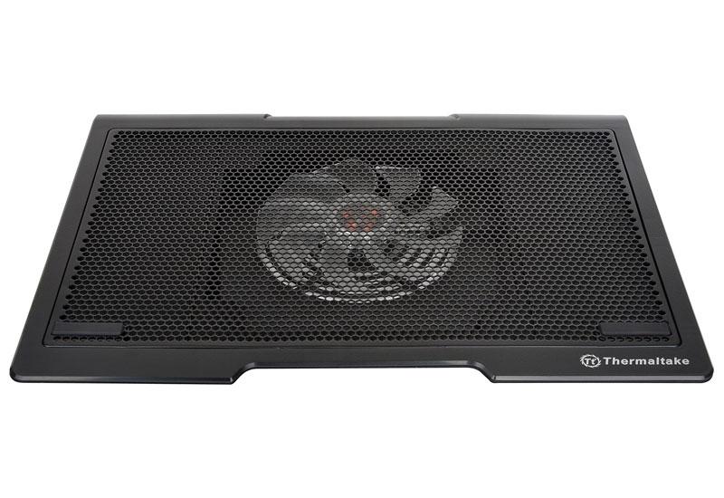 Thermaltake ステレオスピーカーを内蔵 Massive SP/NB cooler/17/140mm*1/Plastic/Black (CL-N003-PL14BL-A)