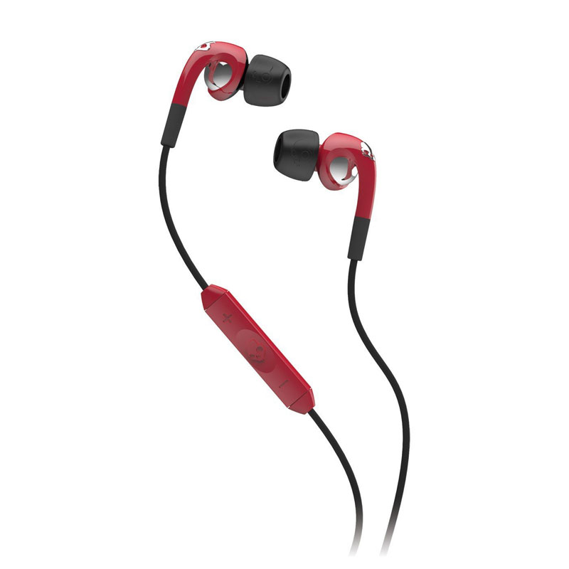 SkullCandy FIX IN EAR Red/Chrom イヤホン レッド/クローム (S2FXFM-161)