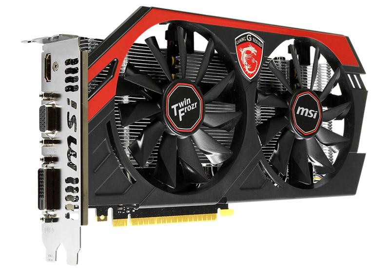 MSI GTX 750Ti GAMING NVIDIA GeForceGTX750 Ti搭載グラフィックスボード (N750Ti TF 2GD5/OC)