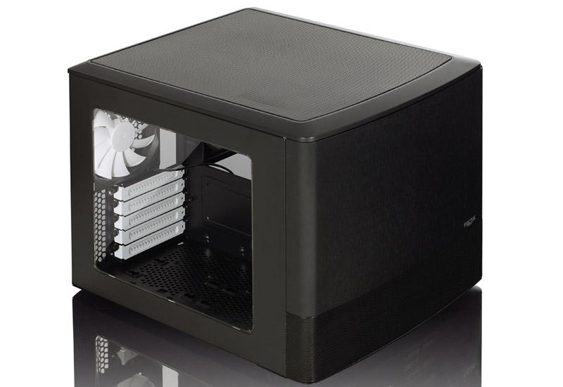 Fractal Design Node 804 冷却パフォーマンスを高めるデュアルチャンバー構造採用キューブ型PCケース (FD-CA-NODE-804-BL-W)