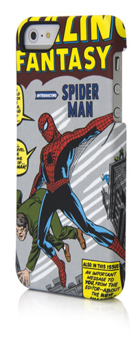PDP Marvel Case for iPhone SE/5/5s アメイジング ファンタジー スパイダーマン アメコミケース (IP-1246AUA)