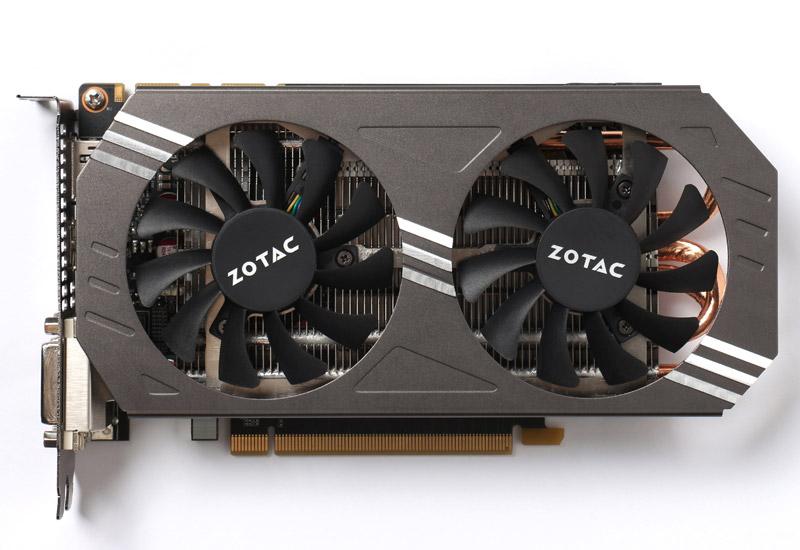 ZOTAC GeForce GTX 970 デュアルファン採用ビデオカード (ZTGTX97-4GD501/ZT-90101-10P)
