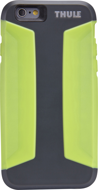 Thule Atmos X3 iPhone6 Plus/6s Plus 強い衝撃から保護するウルトラスリムケース グリーン Dark Shadow/Floro (TAIE-3125DS/FL)