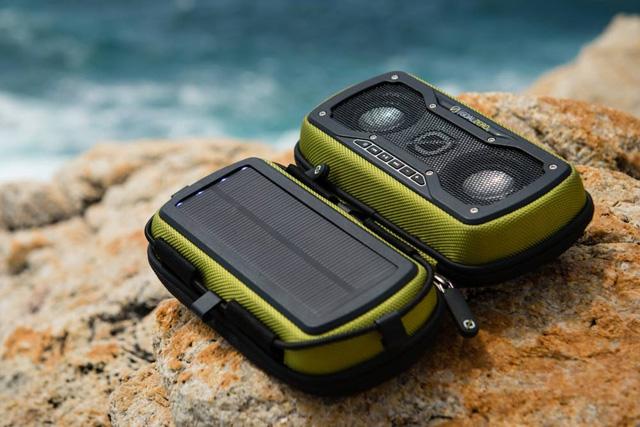 【クリアランス特価品・訳アリ品】Goal Zero ソーラーパネル搭載 Bluetoothスピーカー Rock Out 2 Solar Speaker - Teal (94015)