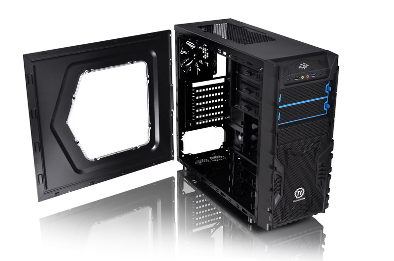 Thermaltake Versa H23 Window /w casefan フロント/リア1基 ファン搭載モデル (CA-1B1-00M1WN-04)