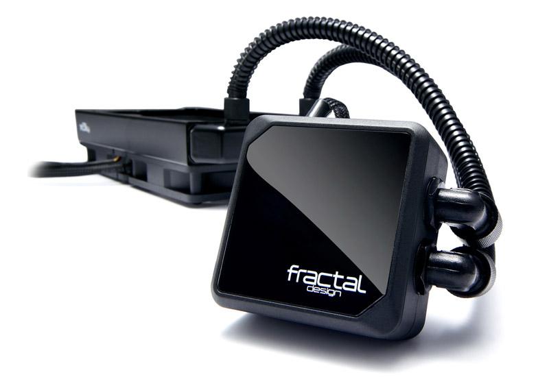 Fractal Design Kelvin T12 水冷一体型CPUクーラー(FD-WCU-KELVIN-T12-BK)