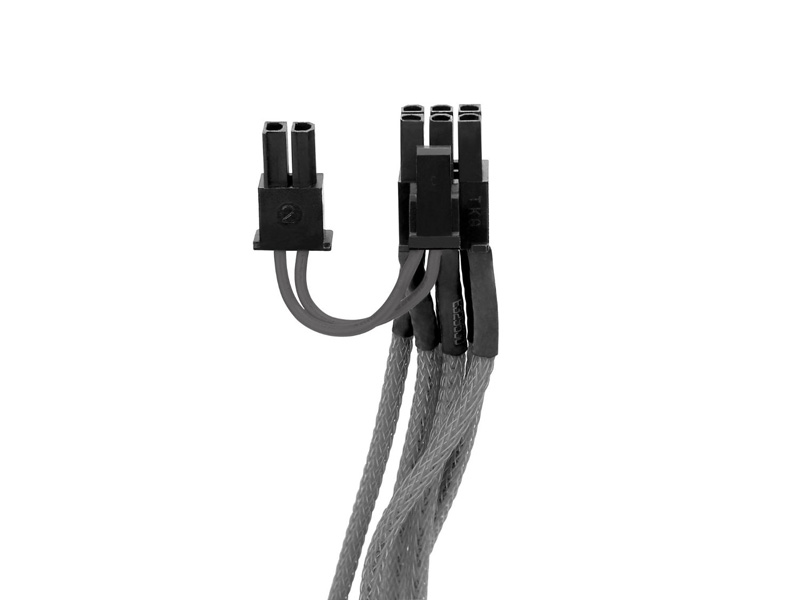 Thermaltake 6+2Pin PCI-E Sleeved Cable Gray 電源ユニット用スリーブケーブル グレー (AC-011-CNONAN-PG)