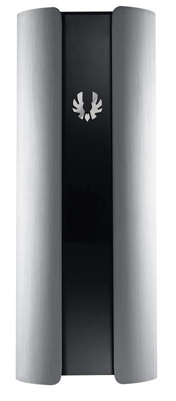 BitFenix Pandora Silver フロントロゴが変更できるmicroATX対応のスリム型PCケース (BFC-PAN-300-KSXL1-RP)