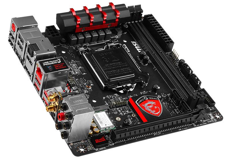 MSI Z97I GAMING ACK ゲーミングPC構成に必要な多くの機能を備えたMini-ITXマザーボード (Z97I GAMING ACK)