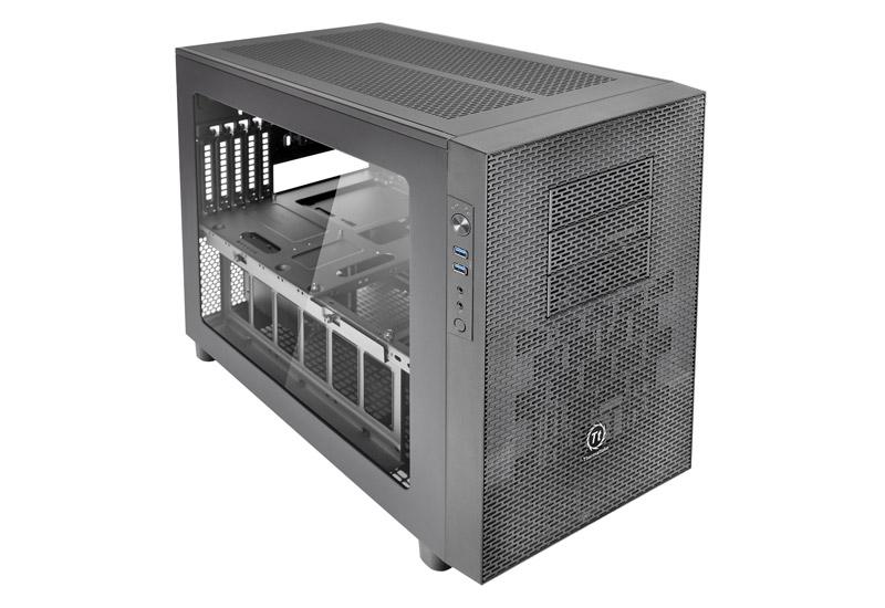 Thermaltake Core X2 2段スタック対応 拡張性に優れたキューブ型PCケース (CA-1D7-00C1WN-00)